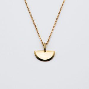 Médaille Demi-Cercle Biseautée